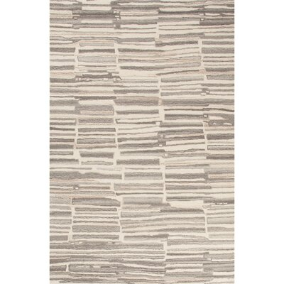 Weiss Hand-Tufted Beige/Gray Area Rug Rug Size: 8 x 10