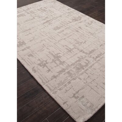 Elyse Hand-Tufted Gray Area Rug Rug Size: 8 x 10