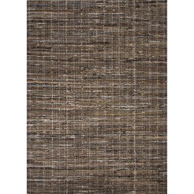 Thompson Cotton Solids/Handloom Brown Area Rug Rug Size: 5 x 8