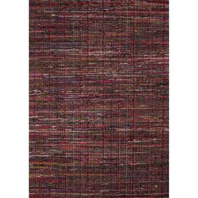 Thompson Cotton Solids/Handloom Tango Red Area Rug Rug Size: 8 x 10