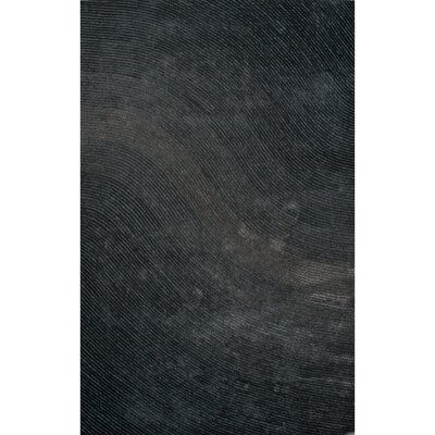 Domenick Polyester Shag Deep Sea Area Rug Rug Size: Rectangle 5 x 76