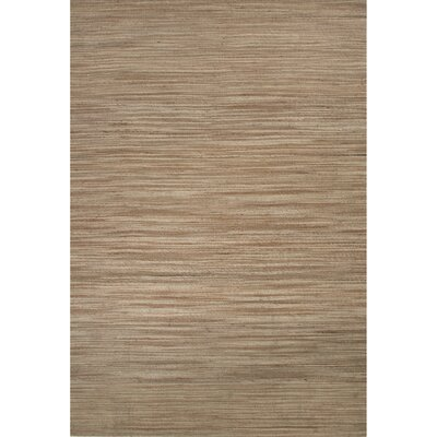 Thompson Jute Tan Naturals Area Rug Rug Size: 8 x 10