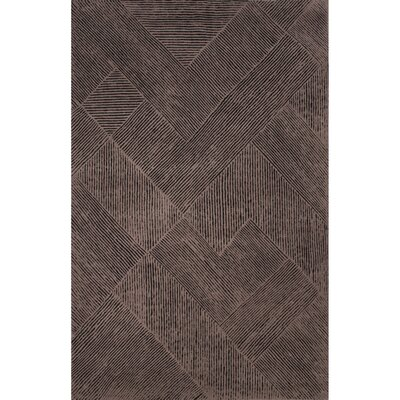 Weiss Wool Flat Weave Taupe Area Rug Rug Size: 2 x 3