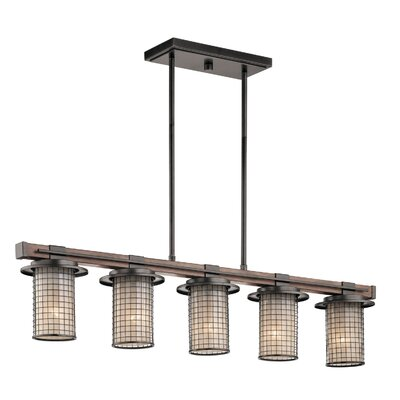 Laudalino 5-Light Kitchen Island Pendant