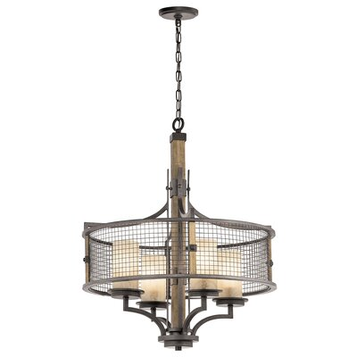 Laudalino 4-Light Drum Chandelier