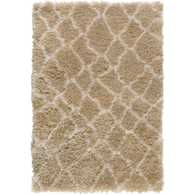 Keith Brown/White Area Rug Rug Size: 2 x 3