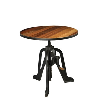 Mikaela Cafe To Bar Crank Adjustable Pub Table