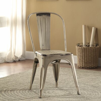 Fortier Side Chair Finish: White