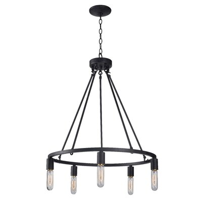 Kasandra 5-Light Candle-Style Chandelier
