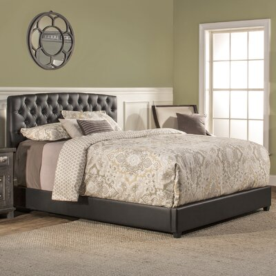 Ebright Upholstered Panel Bed Size: California King