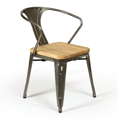 Vermilion Solid Wood Dining Chair
