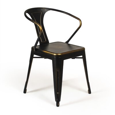 Vermilion Arm Chair Finish: Copper