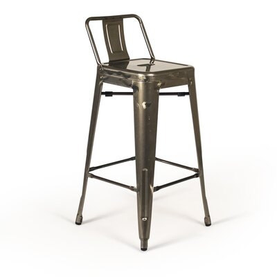 Nolan 26 Bar Stool Finish: Metal