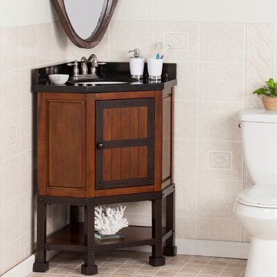 Tristian 34 Single Corner Bath Vanity Set