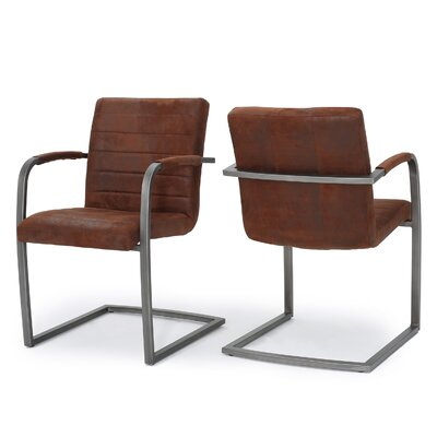 Towaoc Modern Arm Chair Upholstery: Brown