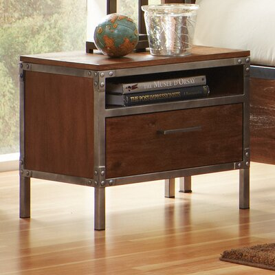 Tressider 1 Drawer Nightstand
