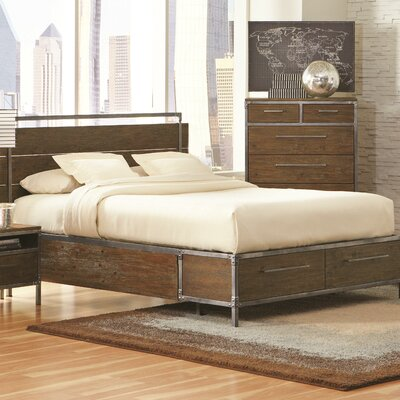 Chantelle Storage Platform Bed Size: Queen
