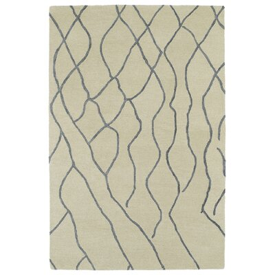 Adrianne Ivory Geometric Area Rug Rug Size: Rectangle 4 x 6