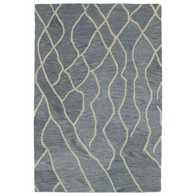 Adrianne Grey Geometric Rug Rug Size: Rectangle 96 x 136