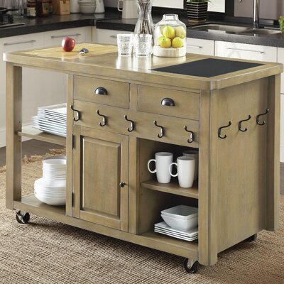 17 Stories Marion Kitchen Island