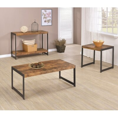 Ash Hill 3 Piece Coffee Table Set