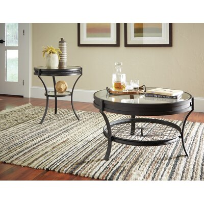 Poole 2 Piece Coffee Table Set