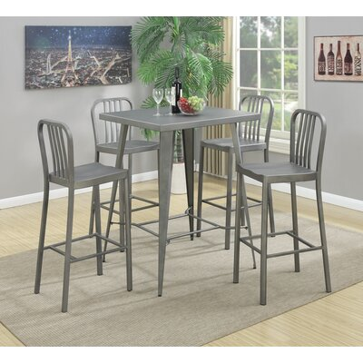 Scarlett 5 Piece Counter Height Dining Set