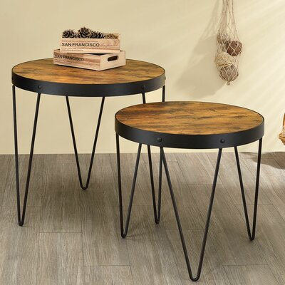 Wilkinson 2 Piece End Table Set