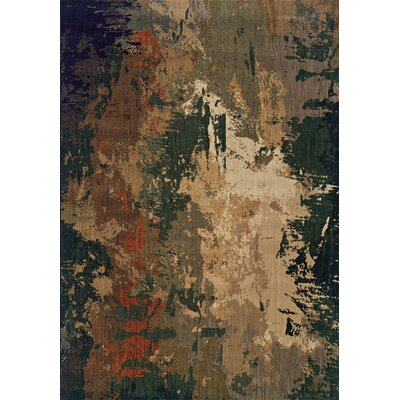 Fairhaven Brown Area Rug Rug Size: 67 x 96