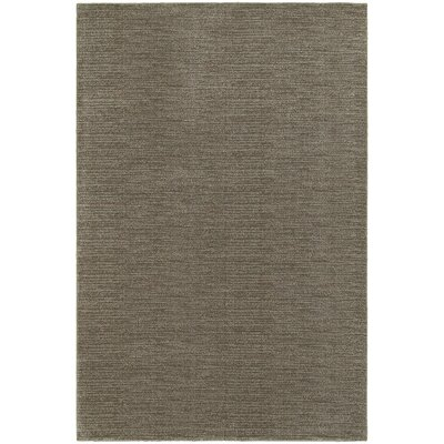 Beckett Gray/Brown Area Rug Rug Size: 53 x 76