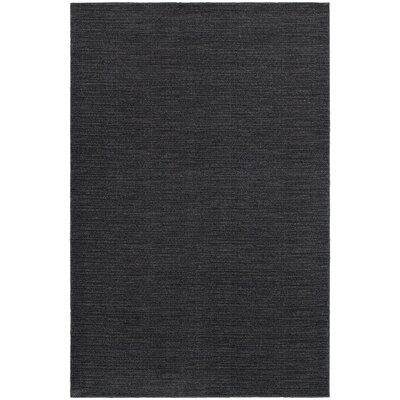 Beckett Navy/Gray Area Rug Rug Size: 53 x 76