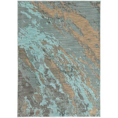 Modrest Blue Area Rug Rug Size: 710 x 1010