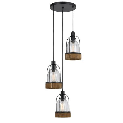 Elettra 3-Light Cascade Pendant