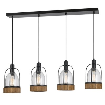 Elite 4-Light Kitchen Island Pendant
