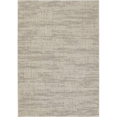 Hudson Sea Mist Area Rug Rug Size: Rectangle 53 x 76