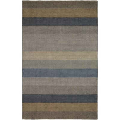 Carlin Striped Wool Rug Rug Size: 410 x 710