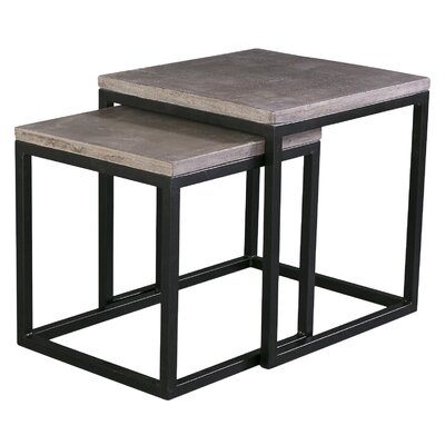 Agathla 2 Piece Nesting Table Set