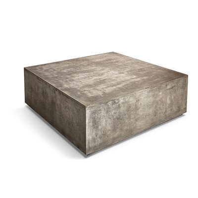 Agathla Bloc Coffee Table Color: Dark Gray