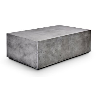 Laurinda Bloc Rectangle Coffee Table