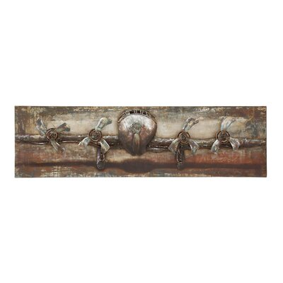The Grand Painting Print Plaque in Brown TADN8428 34913100