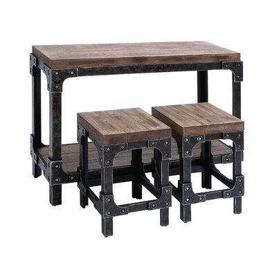 Edward 3 Piece Pub Table Set