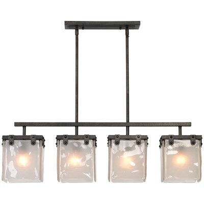 Tianna Industrial 4-Light Kitchen Island Pendant