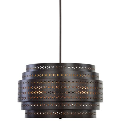 Maurice 3-Light Drum Chandelier