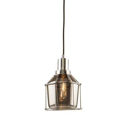 Gladys 1-Light Incandescent Mini Pendant Finish: Chrome