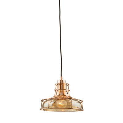 Diane 1-Light Mini Pendant Finish: Rose Gold