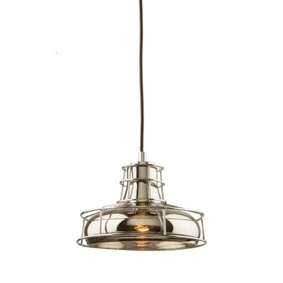 Gladys 1-Light Canopy Mini Pendant Finish: Chrome