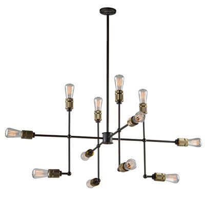 Gilfillan 12-Light Sputnik Chandelier