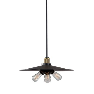 Gilfillan 3-Light Bowl Pendant