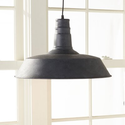 Ilgaz 1-Light Mini Pendant Finish: Weathered Zinc