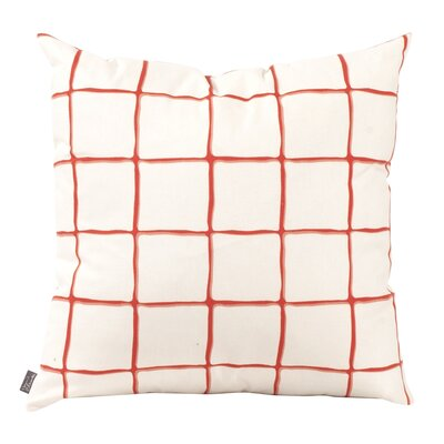 Wicker Throw Pillow Color: Canyon